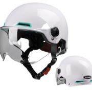 YEMA 野马 头盔 珍珠白 透明短镜¥108.00 2.1折