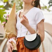 OIWAS iMIX 爱华仕 21年夏新款女士圆形手提斜挎包