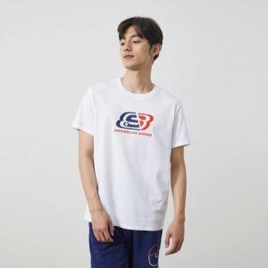 SKECHERS 斯凯奇 L221U243-0019 男士运动T恤