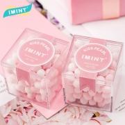 IMINT 香体糖约会接吻糖 无糖薄荷糖45g*2