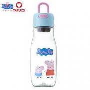 PLUS会员:TAFUCO 泰福高 小猪佩奇塑料水杯 550ml14.9元包邮(双重优惠)