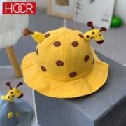 HOCR 卡通圆顶渔夫帽 小鹿帽