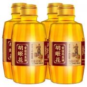 plus会员:胡姬花 古法小榨 花生油400ml*4瓶+丸荘酱油150ml*1瓶42.9元包邮(需用券)