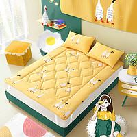 MERCURY 水星家纺 加油鸭 抗菌防螨床垫 90*195cm