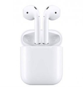 Apple 苹果 AirPods(二代)真无线蓝牙耳机 有线充电盒版