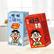 Want Want 旺旺 旺仔牛奶+O泡果奶组合 125ml*16盒