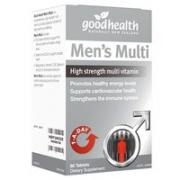 goodhealth 好健康 男士复合维生素 60片¥64.43 1.9折 比上一次爆料降低 ¥0.07