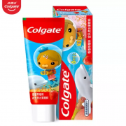 Colgate 高露洁 海底小纵队 儿童牙膏 草莓味 70g1.7元(需用券,需运费)