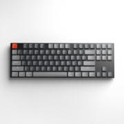 J.ZAO 京东京造 K187 87键 蓝牙双模 机械键盘 Gateron矮红轴 白光