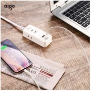 aigo 爱国者 F0320 便携式插座 6位 2级插孔14.9元包邮(需用券)