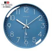 TIMESS 中国码电波表(电波挂钟) 日期温度显示 自动对时分秒不差