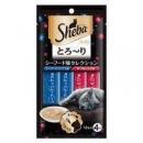 Sheba 希宝 猫零食 海洋尊享+鲣鱼及虾12g*4条1元(需运费券)