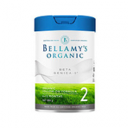 BELLAMY'S 贝拉米 白金A2有机系列 较大婴儿奶粉 澳洲版 2段 800g