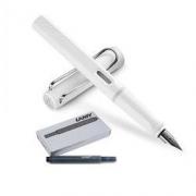 LAMY 凌美 Safari狩猎者 钢笔 F尖 白色 送墨水胆笔芯5支装89元(包邮包税,需定金10元,1日0点付尾款)