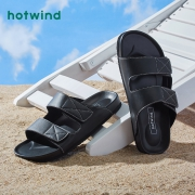 hotwind 热风 男士休闲凉鞋49.64元包邮