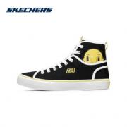 Skechers 斯凯奇 女子休闲高帮帆布鞋 66666309 2色