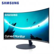 SAMSUNG 三星 C27T550FDC 27英寸曲面显示器(1920×1080、1000R、FreeSync)