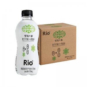 RIO 雪気の水 苏打水 青提味/乳酸菌味 330ml*6瓶