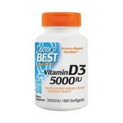 Doctor's BEST 阳光维生素D3软胶囊 180粒