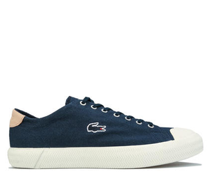 LACOSTE 拉科斯特 Gripshot Textured Canvas 男士帆布运动鞋