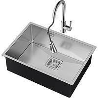 RiIFO日丰 不锈钢水槽大单槽 50*43cm