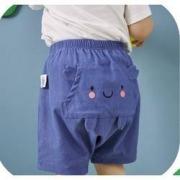mini balabala 迷你巴拉巴拉 宝宝竹节休闲短裤35.9元包邮(需用券)