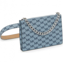 粉色和蓝色!Michael Kors Pull Chain老花腰包$20.98(折¥142.66)