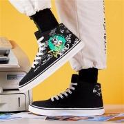 ERKE 鸿星尔克 熊猫系列  休闲鞋  高帮板鞋 W51120301083178元包邮
