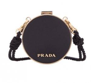 PRADA 普拉达 女士黑色手拿包 1TA006-2DM5-F0002