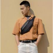 MI 小米 男女款胸包 M1100214 黑色