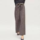 super.natural SNURW029630100 女士格纹宽松休闲裤44元(需用券)