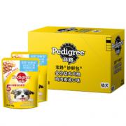 PLUS会员、营养满贯!Pedigree 宝路 宠物妙鲜包 85g*12包¥19.21 3.6折 比上一次爆料降低 ¥0.05