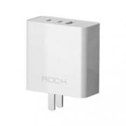 ROCK 洛克 RHPD65W GaN氮化镓充电器 2C1A 65W