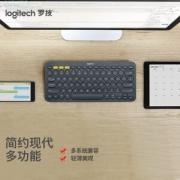 logitech 罗技 K380 无线蓝牙键盘121.8元