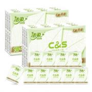 PLUS会员:C&S 洁柔 手帕纸 3层6片48包