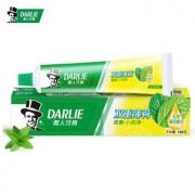 PLUS会员:DARLIE 黑人 双重薄荷牙膏 120g *2件15.12元(合7.56元/件)
