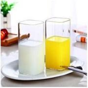 MINGSHANGDE 明尚德 玻璃水杯 400ml6.95元包邮(双重优惠)