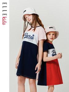ELLE kids 女童运动风连衣裙