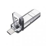 aigo 爱国者 U393 Type-C双U口 USB3.1固态U盘 128GB199元包邮