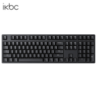 iKBC W210 2.4G无线机械键盘 ( 青轴、108键)
