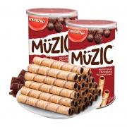 88VIP:munchy's 马奇新新 巧克力注芯蛋卷威化饼干 85g*2罐10.66元(多重优惠)