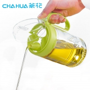 CHAHUA 茶花 厨房玻璃防漏油壶 450ml