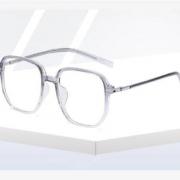 RECARTO 列卡度 近视防蓝光 渐变透明灰 防蓝光镜片+镜框+镜盒配件
