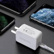 Gopala 单口PD 20W 充电器+2米快充线 苹果快充套装