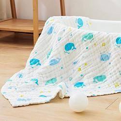 PLUS会员:Wellber 威尔贝鲁 婴儿浴巾5件套 2条浴巾+3条方巾