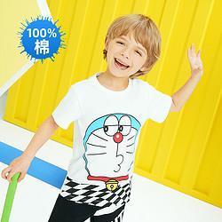 ANTA 安踏 儿童运动T恤短袖
