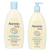 Aveeno 艾惟诺 婴幼儿洗发沐浴二合一 532ml+保湿润肤乳液 532ml104元包邮