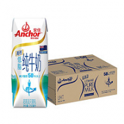 Anchor 安佳 成人高钙低脂纯牛奶 250ml*24盒