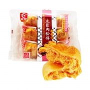 88VIP:肉松饼 208g/袋+ 豆本豆 豆奶唯甄原味250ml*24盒+ 谷粒谷力 早餐奶250ml