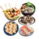PLUS会员:CHAO XING JI 潮兴记 关东煮组合 五款杂锦组合套餐 1000g49元